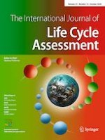 The International Journal of Life Cycle Assessment 10/2020