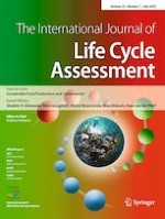 The International Journal of Life Cycle Assessment 7/2020