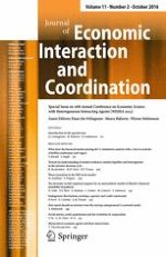 Journal of Economic Interaction and Coordination 2/2016