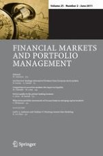 Financial Markets and Portfolio Management 2/2011