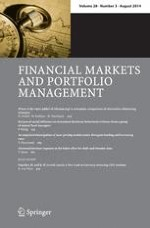 Financial Markets and Portfolio Management 3/2014