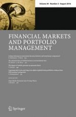 Financial Markets and Portfolio Management 3/2016