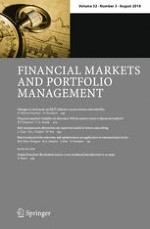 Financial Markets and Portfolio Management 3/2018