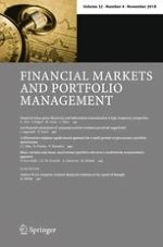 Financial Markets and Portfolio Management 4/2018