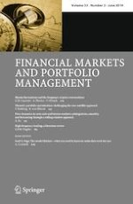 Financial Markets and Portfolio Management 2/2019