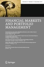 Financial Markets and Portfolio Management 4/2019