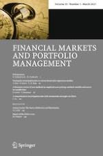 Financial Markets and Portfolio Management 1/2021