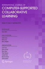 International Journal of Computer-Supported Collaborative Learning 3/2015