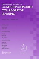 International Journal of Computer-Supported Collaborative Learning 3/2020