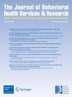 The Journal of Behavioral Health Services & Research 1/2006