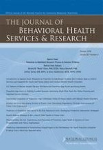 The Journal of Behavioral Health Services & Research 4/2008