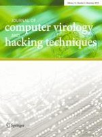 Journal of Computer Virology and Hacking Techniques 4/2018
