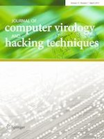 Journal of Computer Virology and Hacking Techniques 1/2019