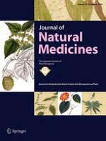 Journal of Natural Medicines 4/2016