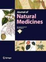 Journal of Natural Medicines 4/2019