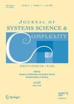 Journal of Systems Science and Complexity 2/2008