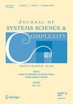 Journal of Systems Science and Complexity 4/2009