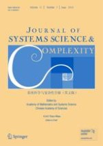 Journal of Systems Science and Complexity 3/2018
