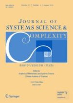 Journal of Systems Science and Complexity 4/2018