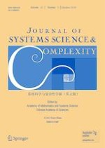 Journal of Systems Science and Complexity 5/2019