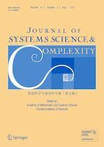 Journal of Systems Science and Complexity 3/2021