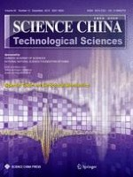 Science China Technological Sciences 12/2012