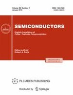 Semiconductors 1/2016
