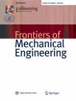 Frontiers of Mechanical Engineering 2/2015