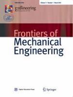 Frontiers of Mechanical Engineering 1/2016