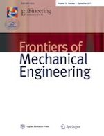Frontiers of Mechanical Engineering 3/2017
