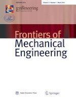 Frontiers of Mechanical Engineering 1/2018