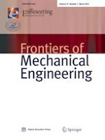 Frontiers of Mechanical Engineering 1/2019