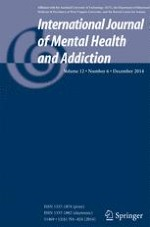 International Journal of Mental Health and Addiction 6/2014