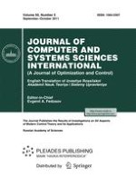 Journal of Computer and Systems Sciences International 5/2011