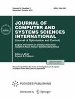 Journal of Computer and Systems Sciences International 5/2015