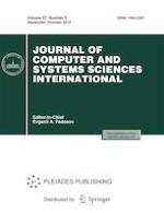 Journal of Computer and Systems Sciences International 5/2018