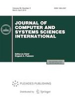 Journal of Computer and Systems Sciences International 2/2019