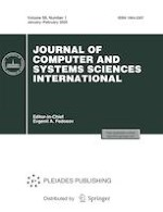 Journal of Computer and Systems Sciences International 1/2020