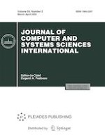 Journal of Computer and Systems Sciences International 2/2020