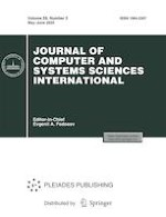 Journal of Computer and Systems Sciences International 3/2020