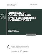 Journal of Computer and Systems Sciences International 4/2020