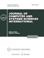 Journal of Computer and Systems Sciences International 5/2020