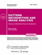 Pattern Recognition and Image Analysis 3/2012
