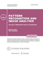 Pattern Recognition and Image Analysis 3/2020