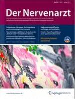 Der Nervenarzt 1/2012