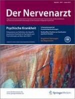 Der Nervenarzt 1/2015