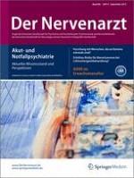 Der Nervenarzt 9/2015