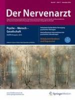 Der Nervenarzt 11/2016