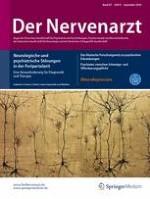 Der Nervenarzt 9/2016