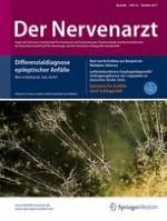 Der Nervenarzt 10/2017